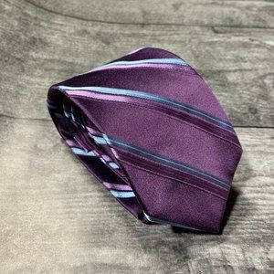 Brooks Brothers Purple Blue Striped Tie